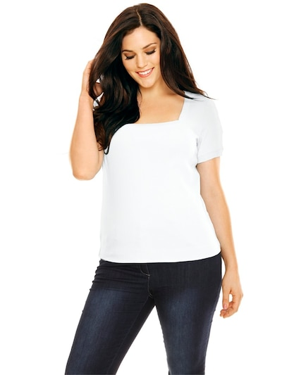 heine Majica u bijela: Prednji pogled