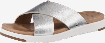 UGG Pantolette 'Kari' in silber, Produktansicht