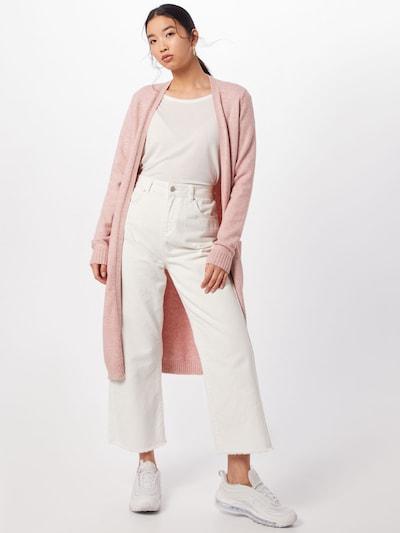 VILA Strickcardigan 'Ril' in rosa, Modelansicht