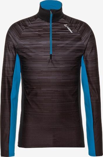 Löffler Funktionsshirt 'Blizz Tiv' in blau / schwarz, Produktansicht