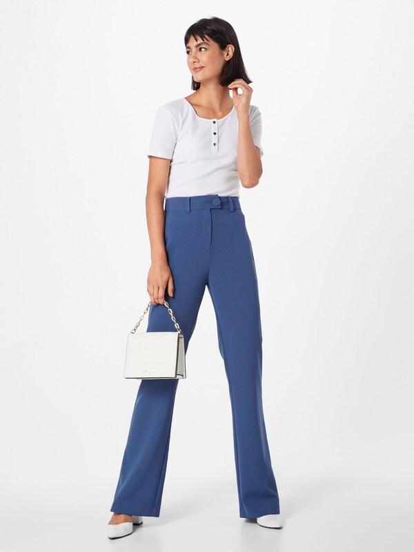 Top D2d' T Ss Pieces Blanc Button shirt 'pcrakel En 4S3Lcq5ARj