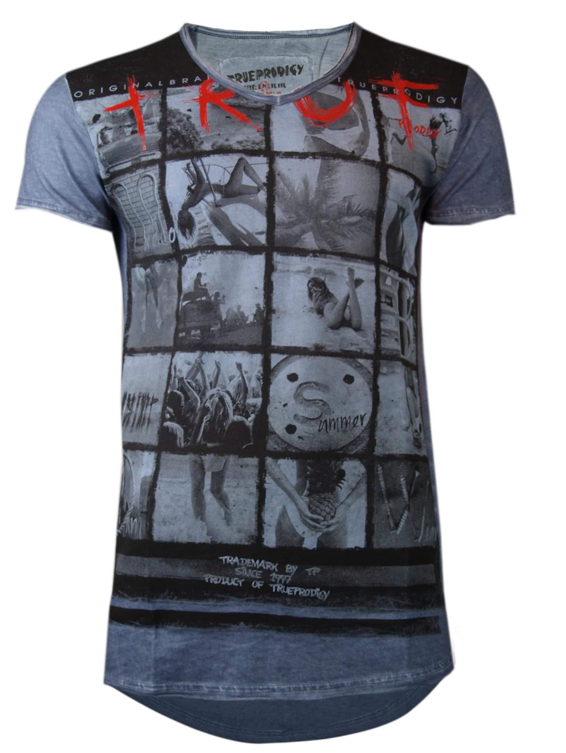 T In shirt Trueprodigy Blau CQrBoWdxeE
