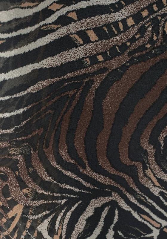 Lascana Strandkleid Mit Animaldruck