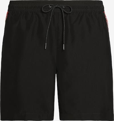 Calvin Klein Shorts in rot / schwarz, Produktansicht