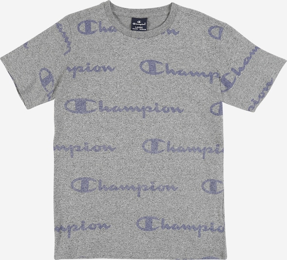 Champion Authentic Athletic Apparel T-Shirt en gris, Vue avec produit