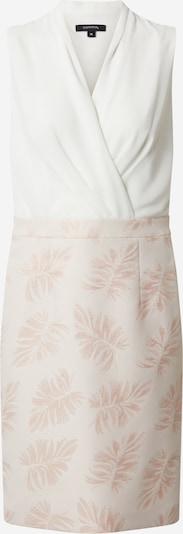 COMMA Kokerjurk in de kleur Rosa / Wit, Productweergave