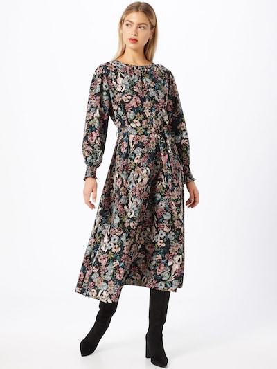 JACQUELINE de YONG Kleid 'Kaya' in mischfarben / schwarz, Modelansicht
