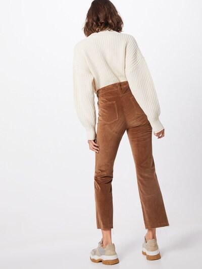 SET Spodnie w kolorze brązowym: Widok od tyłu