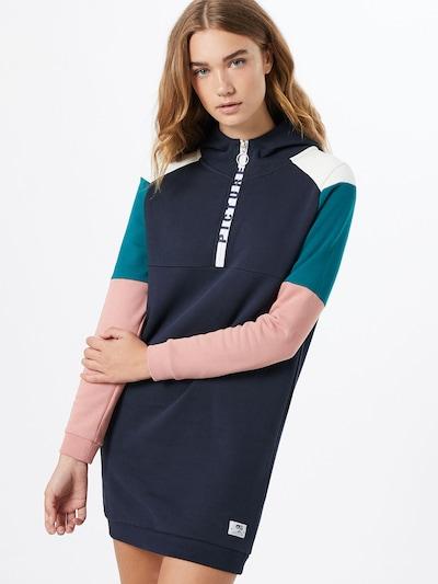 Sportinė suknelė 'Pearl' iš Picture Organic Clothing , spalva - tamsiai mėlyna / žalia / šviesiai rožinė / balta, Modelio vaizdas