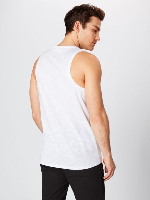 T Blanc 'hector' Guess Bleu FoncéRouge shirt En 8wNnm0
