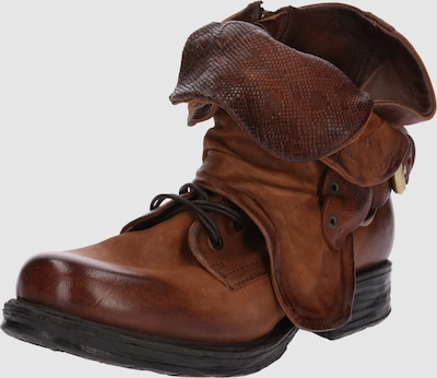A.S.98 Boots 'SAINTEC' in Cognac