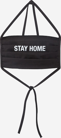 Mister Tee Shawl 'Stay Home' in black, Item view