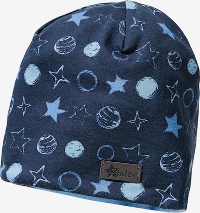 STERNTALER Mütze in blau / nachtblau / hellblau, Produktansicht