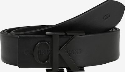 Calvin Klein Jeans Vyö 'J SKINNY MONOGRAM 3CM' värissä musta, Tuotenäkymä