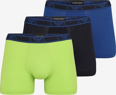 Emporio Armani Trunks in blau / limette, Produktansicht