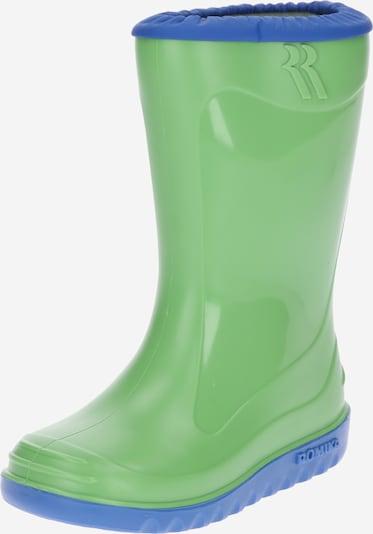 ROMIKA Stiefel 'Little Bunny' in blau / apfel, Produktansicht