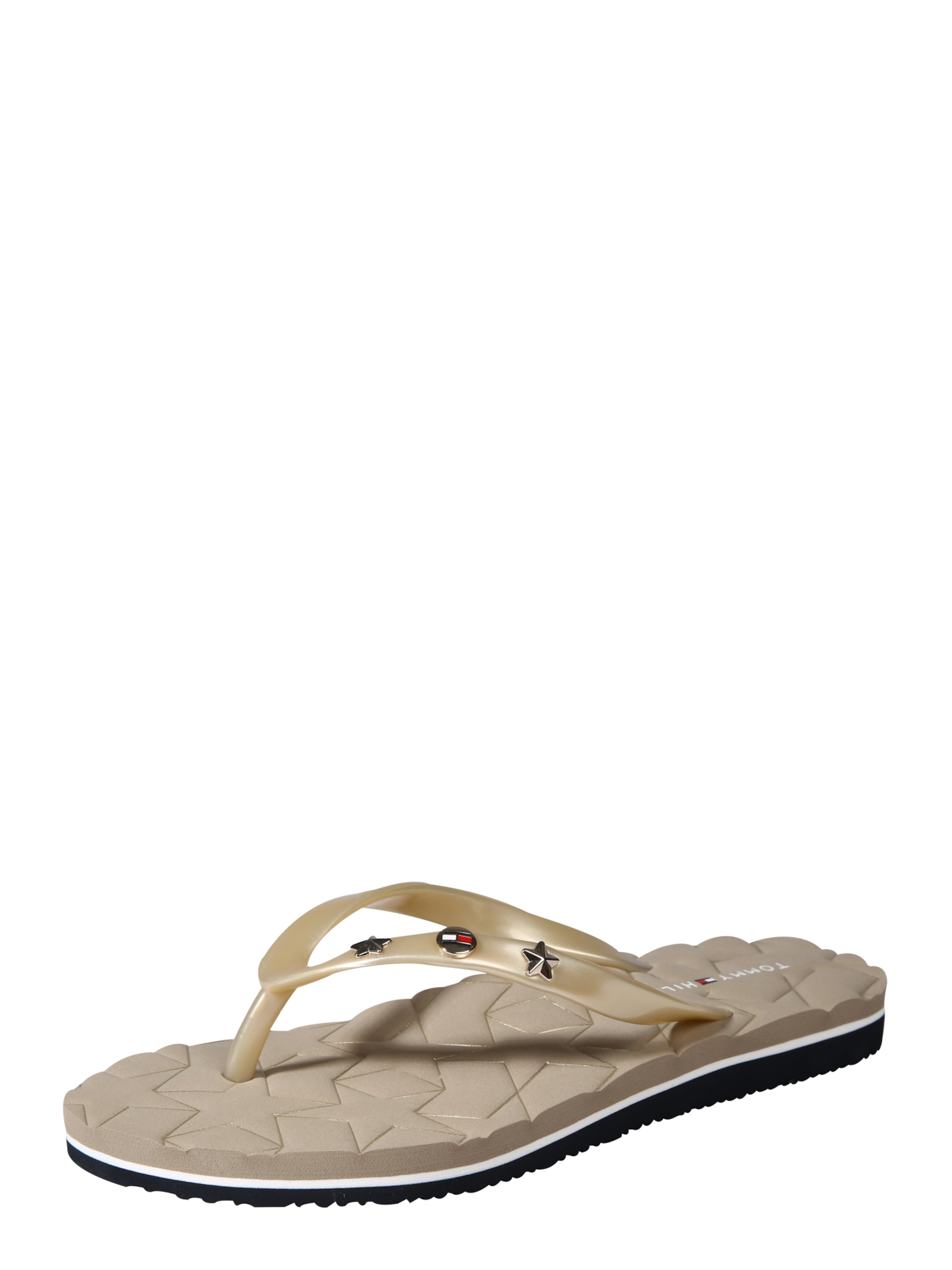 TOMMY HILFIGER Pantolette  METALLIC STAR BEACH