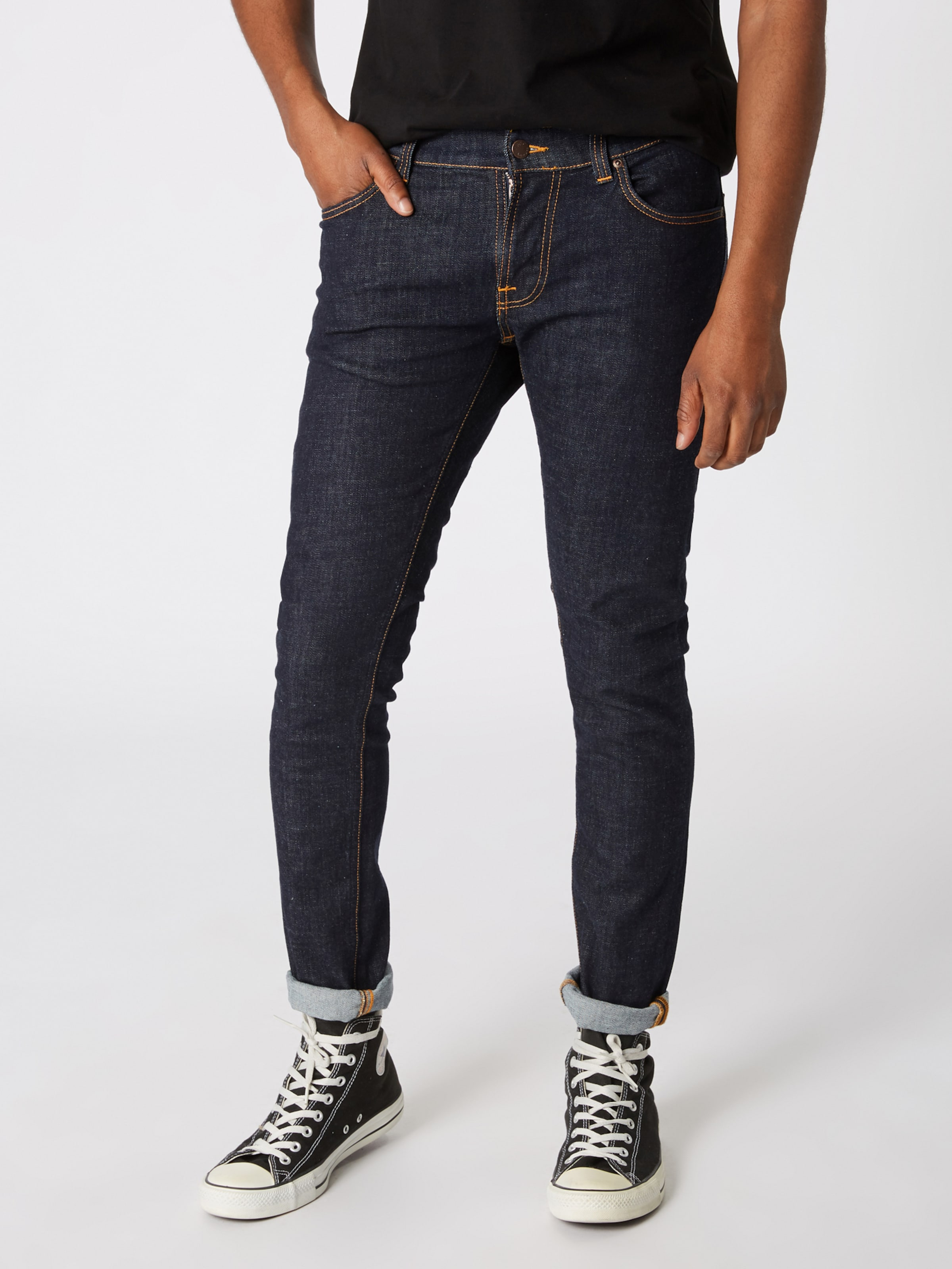 Blue Nudie Denim 'tight In Co Terry' Jeans qUzMpSV