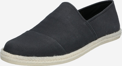 ABOUT YOU Espadrilles 'Nathan' in grau / schwarz: Frontalansicht