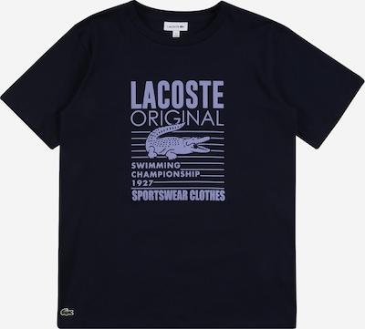 LACOSTE Shirt in blau, Produktansicht