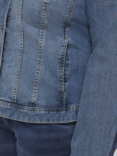 MY TRUE ME Between-season jacket in Blue denim, Item view