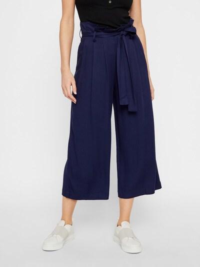 PIECES Culottes in blau, Modelansicht