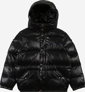 Geacă de iarnă de la Polo Ralph Lauren pe negru