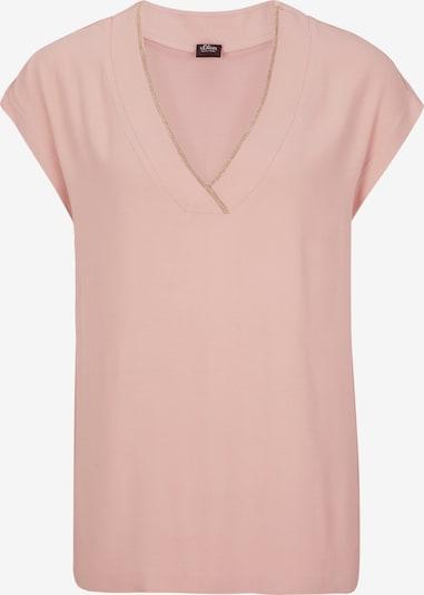 s.Oliver BLACK LABEL T-Shirt in hellpink, Produktansicht