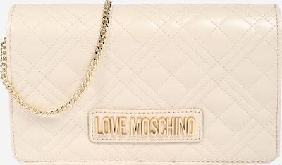 Rankinė su ilgu dirželiu 'BORSA' iš Love Moschino , spalva - smėlio, Prekių apžvalga