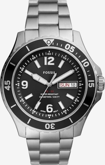 FOSSIL Uhr in schwarz / silber, Produktansicht