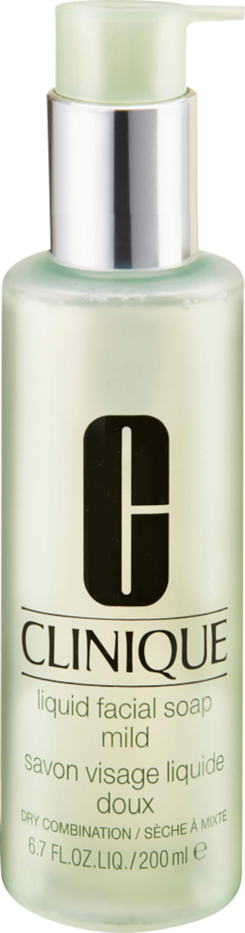 CLINIQUE 'Liquid Facial Soap - mild', Flüssige Gesichtsseife