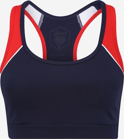 ASICS Sportovní podprsenka - tmavě modrá / červená / bílá, Produkt