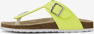 TOM TAILOR Open schoenen in de kleur Geel, Productweergave