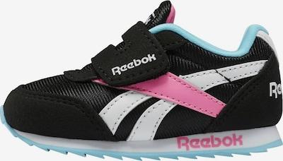Reebok Classic Sneaker 'Royal' in hellblau / pink / schwarz / weiß, Produktansicht