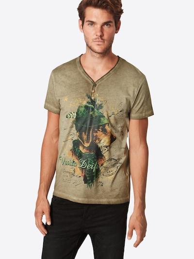 STOCKERPOINT T-Shirt 'Monty' in sand / mischfarben: Frontalansicht