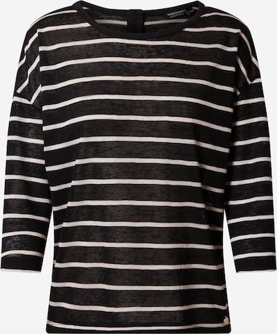 Tricou Eight2Nine pe negru / alb, Vizualizare produs