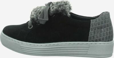 SOLIDUS Sneaker in basaltgrau / hellgrau / schwarz, Produktansicht