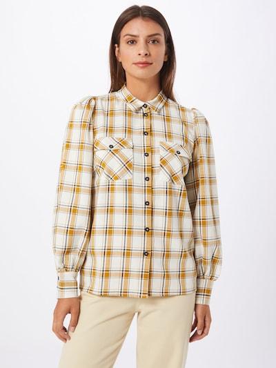 Gestuz Bluse 'Chloe' in gelb / schwarz / weiß, Modelansicht