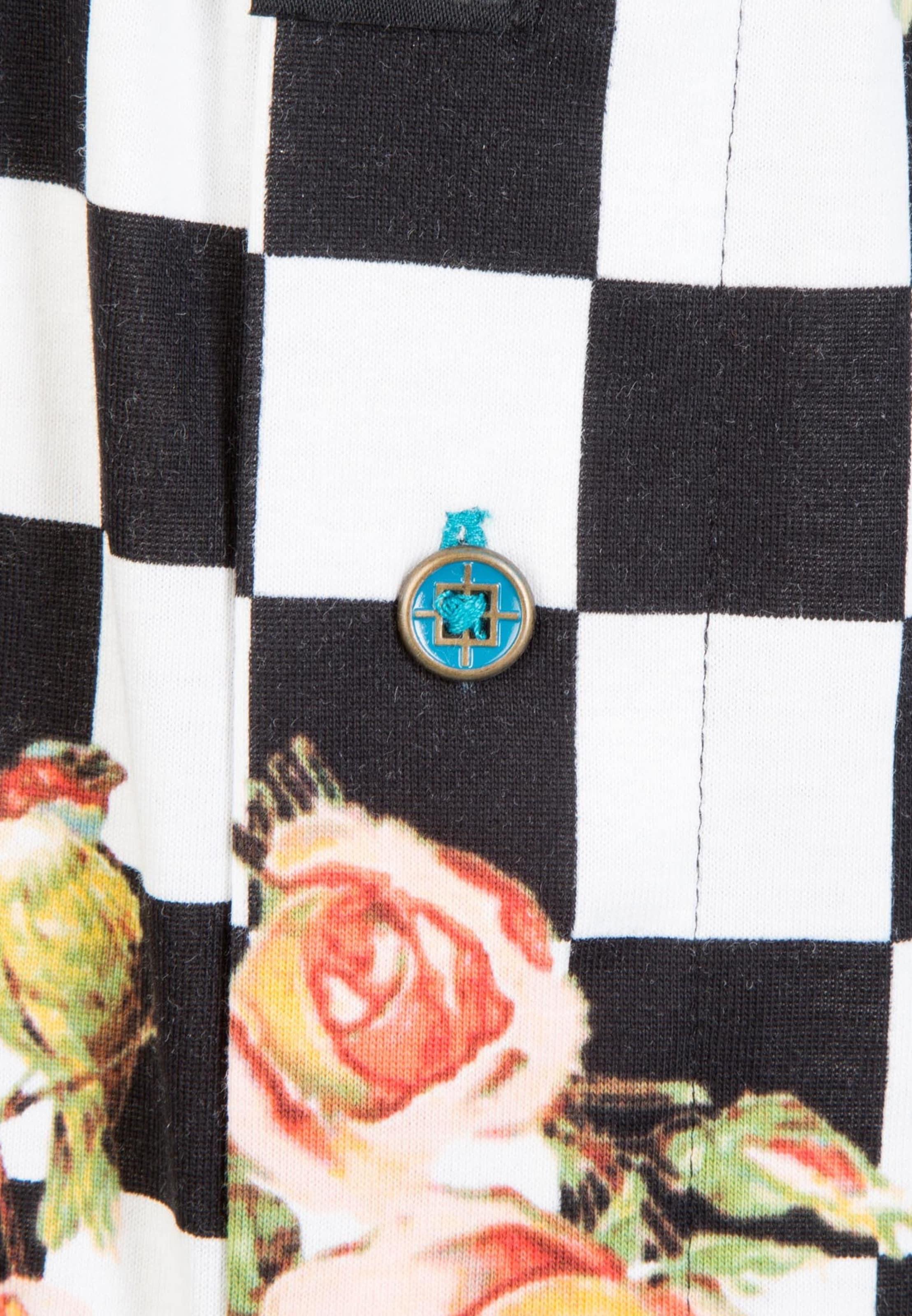 Out' Weiß Check Boxershorts In Schwarz 'floral CremeRosa Stance OiwPulkXZT