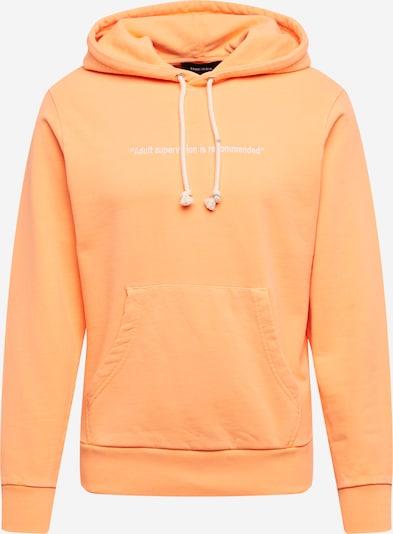 Bluză de molton DIESEL pe portocaliu, Vizualizare produs
