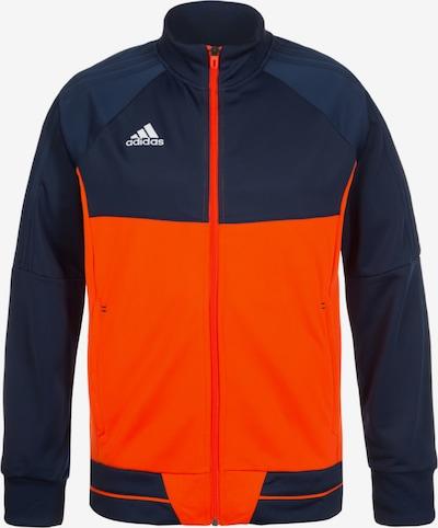 ADIDAS PERFORMANCE Jacke 'Tiro 17' in blau / orange, Produktansicht