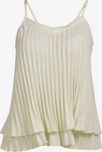 Top DREIMASTER pe alb lână, Vizualizare produs