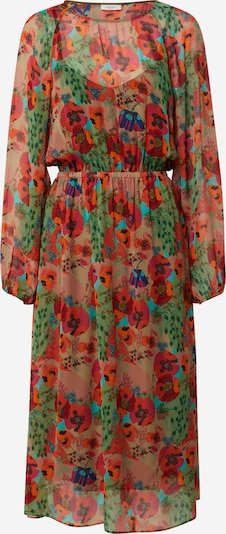 Marc O'Polo DENIM Obleka | temno zelena / oranžna / krvavo rdeča barva, Prikaz izdelka
