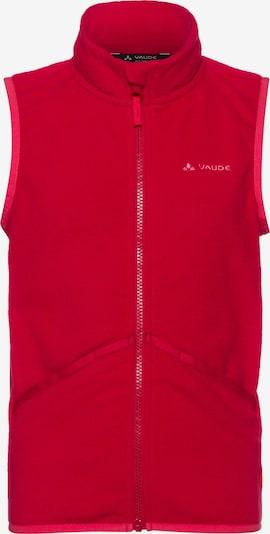 VAUDE Fleeceweste 'Pulex' in rot, Produktansicht