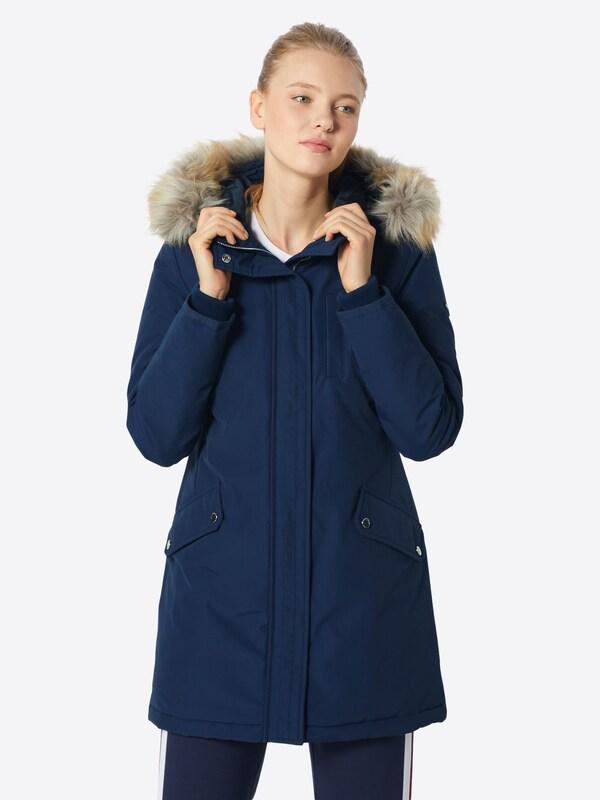 Jeans Tommy Foncé En D'hiver Manteau Bleu cJFTK13l