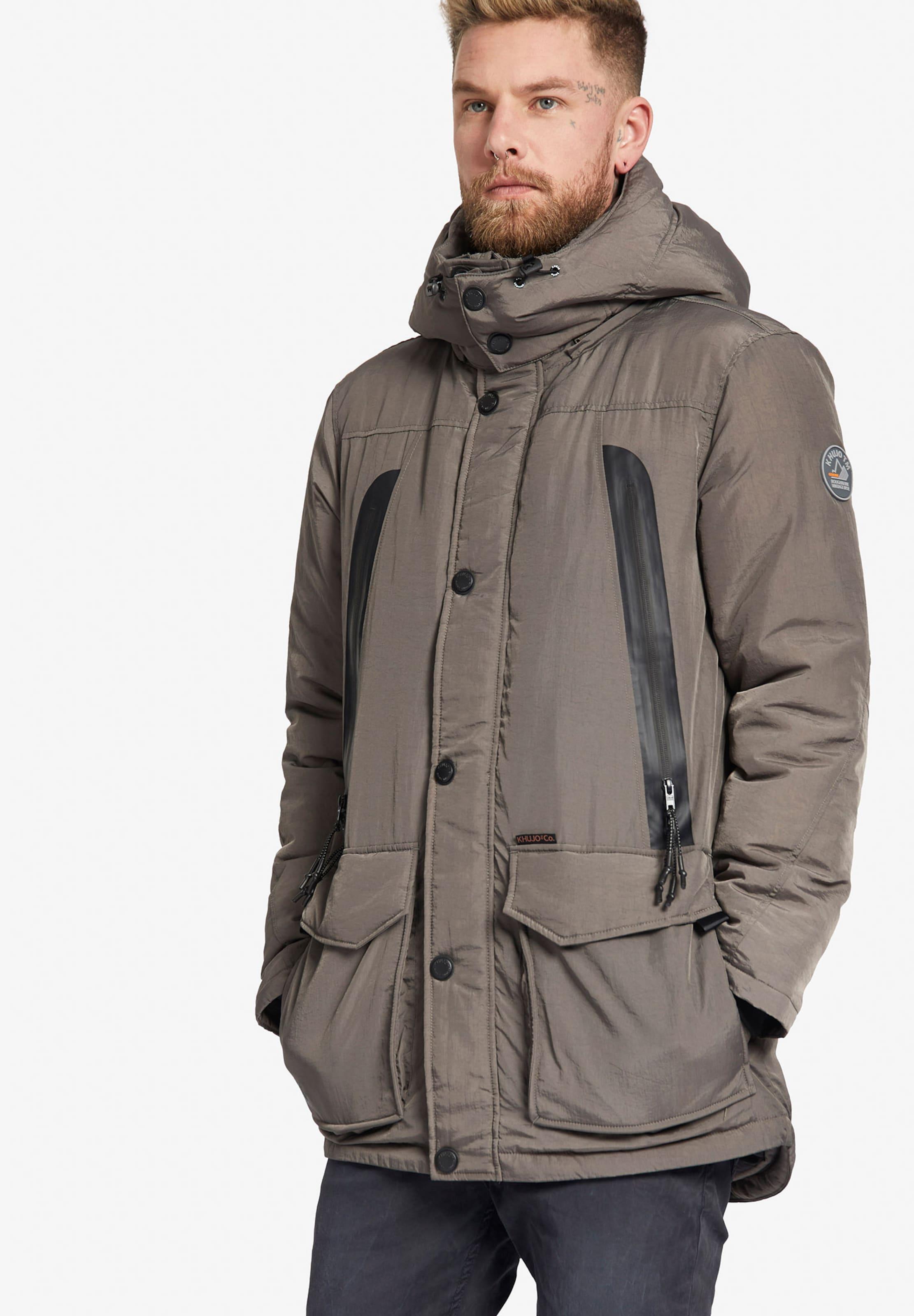 Khujo With D'hiver Hood' Detachable En Parka 'cosinus Taupe OZiPkXu