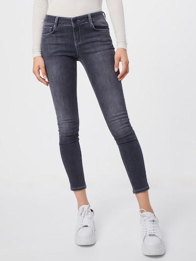 Goldgarn Jeans 'Jungbusch' in grau, Modelansicht