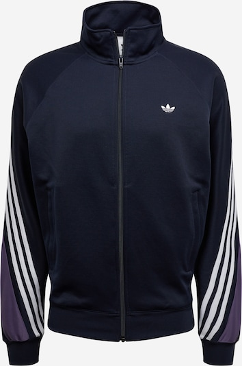 ADIDAS ORIGINALS Veste mi-saison en bleu marine / violet clair / blanc, Vue avec produit