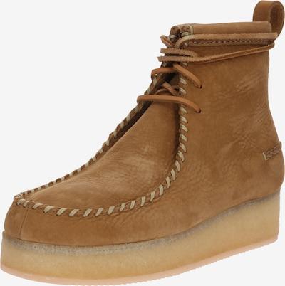 Clarks Originals Boots 'Wallabee Craft' in de kleur Oker, Productweergave