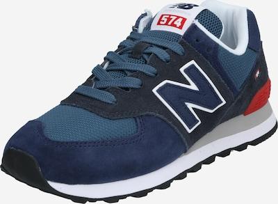 new balance Sneaker 'ML574' in dunkelblau / rot, Produktansicht